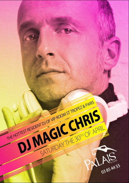 Dj Magic Chris At Palais