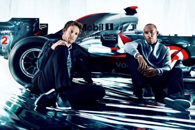 Formula One-Hugo Boss and McLaren