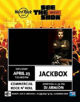 Live Performance By Jackbox At Hard Rock Cafe