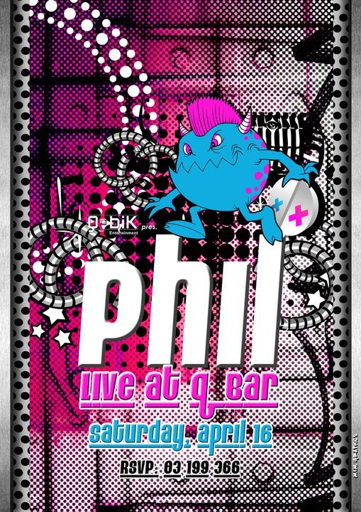 Phil Live At Q Bar
