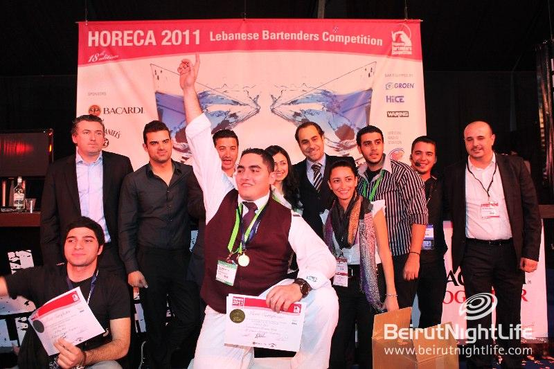 Lebanese Bartenders Competition at HORECA 2011