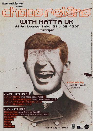 Chaos Reigns With Matta UK At Art Lounge