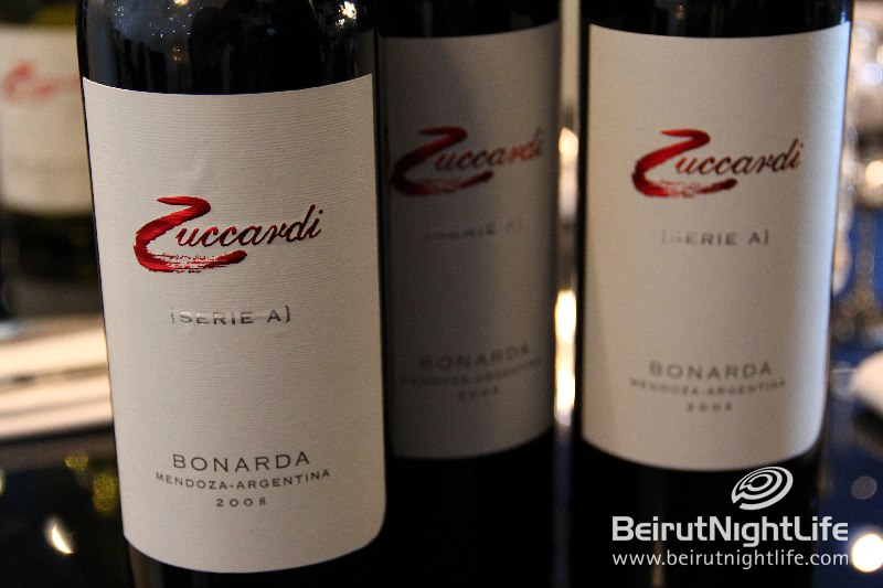 Zuccardi Wine at Gaucho