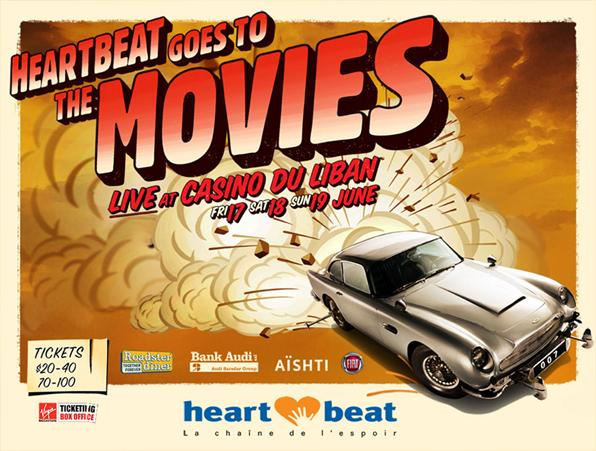 Heartbeat Goes To The Movies Live At Casino Du Liban