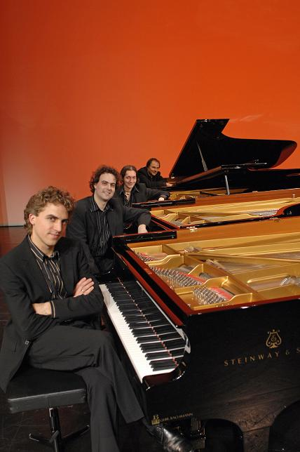 The Gershwin Piano Quartet At Baalbeck International Festival