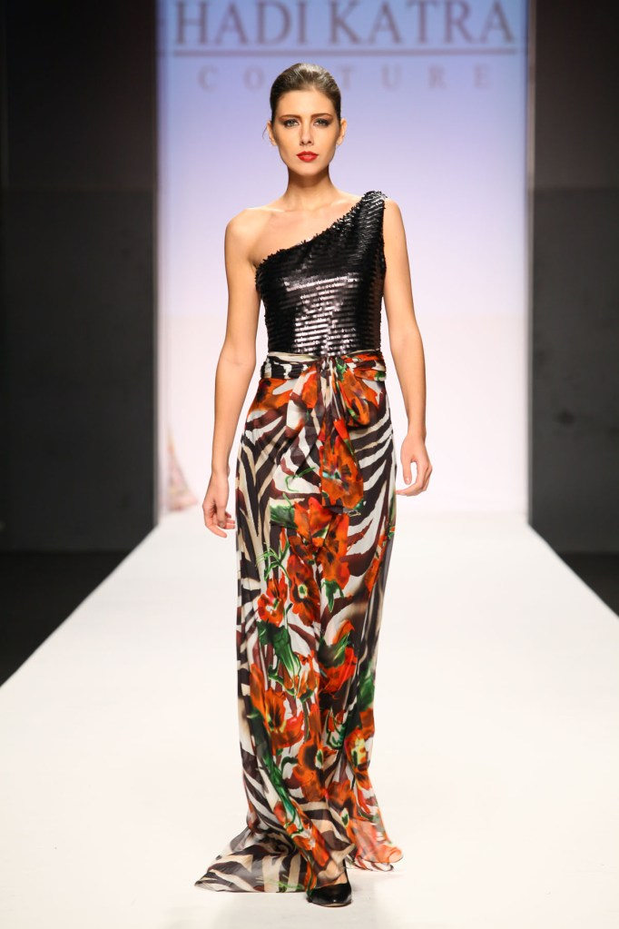 Hadi Katra Wows Dubai Fashion Week