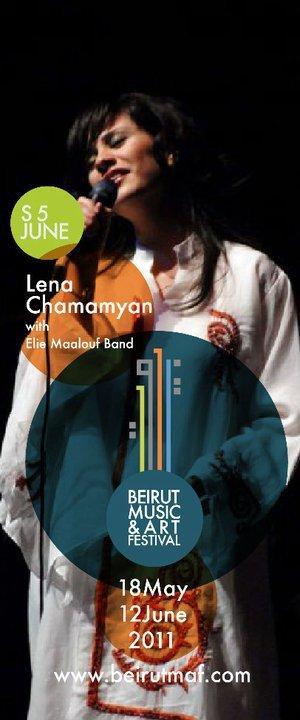 Lena Chamamyan And Elie Maalouf Band