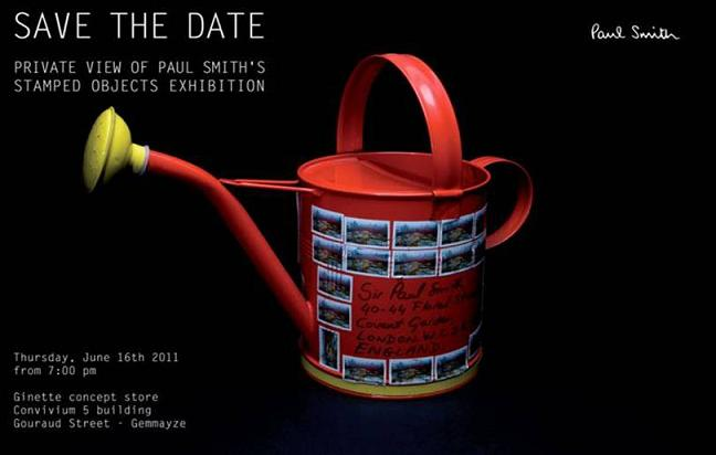 Save The Date Stamped Objects Exhibition