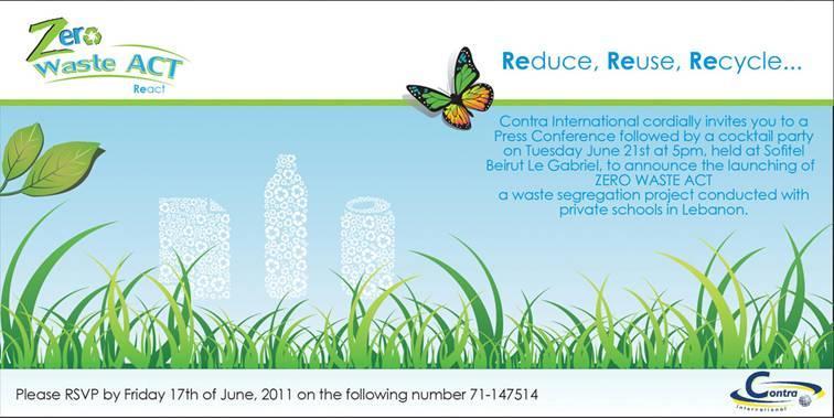 Zero Waste Act React