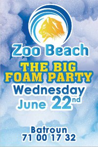 The Big Foam Party At Zoo Beach