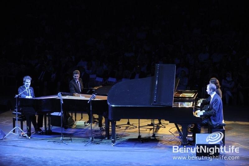 Gershwin Piano Quartet Sheds Light in Baalbeck International Festival 2011