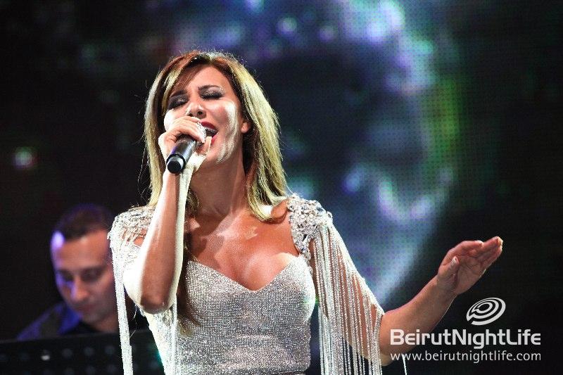 Najwa Karam at Batroun Festival