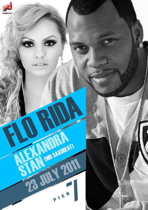 Flo Rida And Alexandra Stan At Pier 7