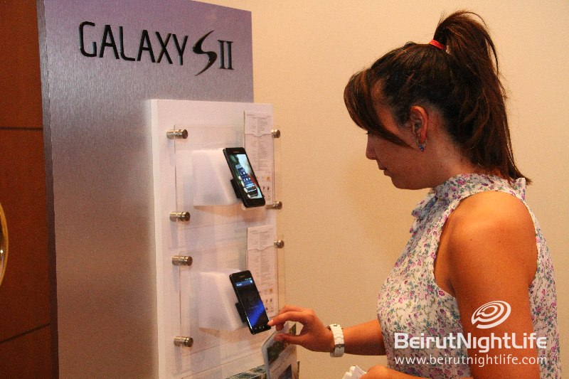 Samsung Launches the Galaxy SII in Lebanon