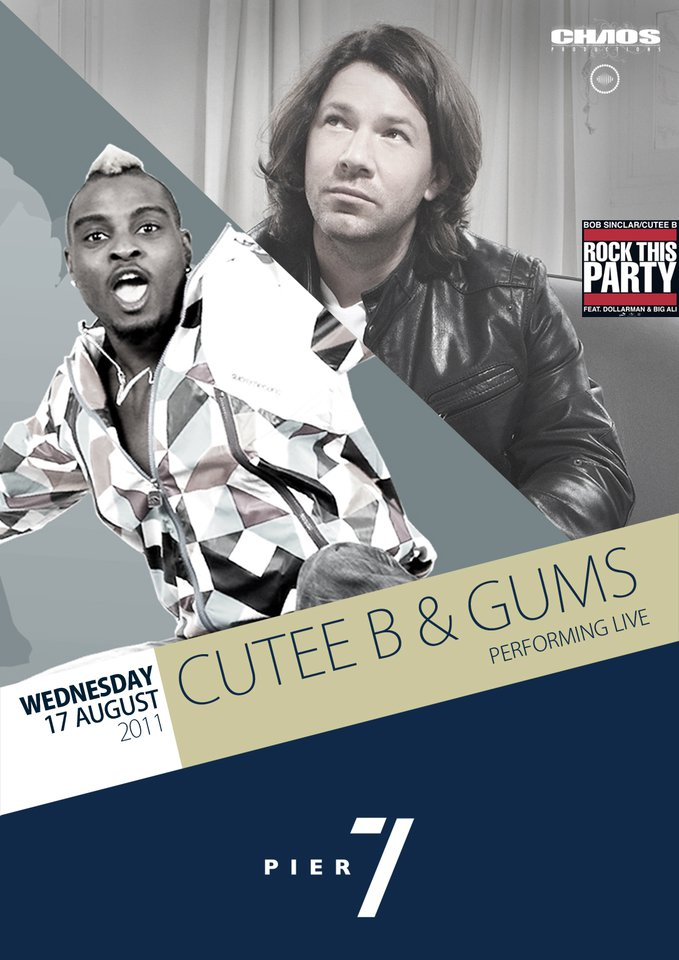 Cutee B And Gums Performing Live At Pier 7