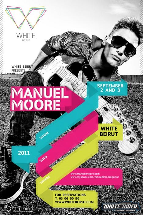 Manuel Moore Live At White
