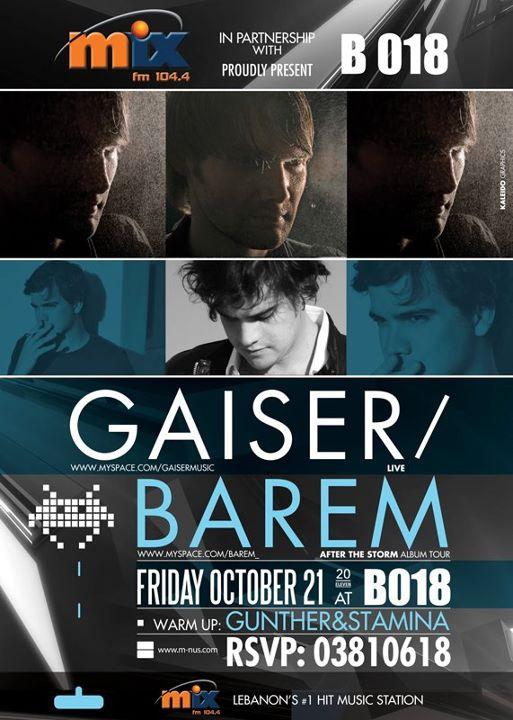 Gaiser And Barem At B018