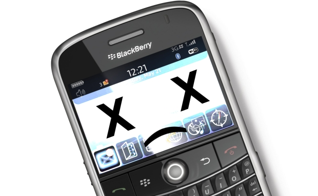 24 Hours Later and Blackberry Remains Crippled