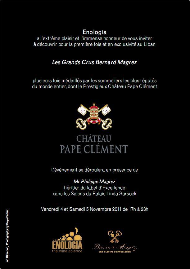 Les Grands Crus Bernard Magrez At Linda Sursock Palace
