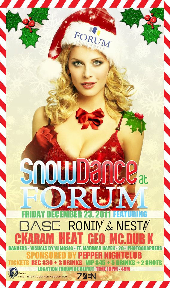 SnowDance At Forum De Beirut