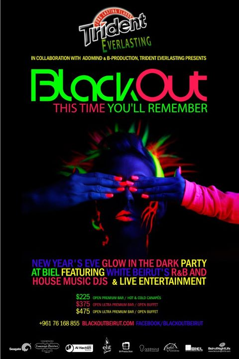 Blackout New Year's Eve Party