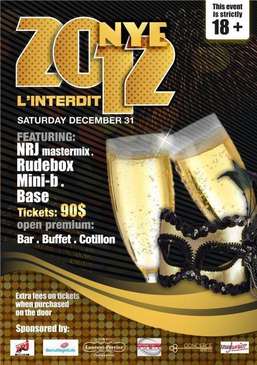 New Year's Eve At L'interdit