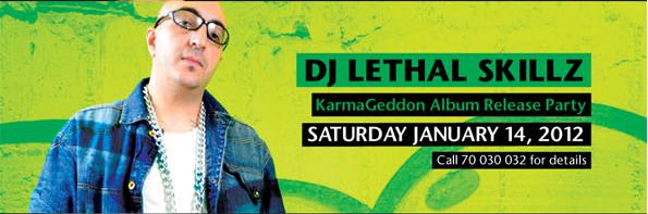 Dj Lethal Skillz Live At DRM