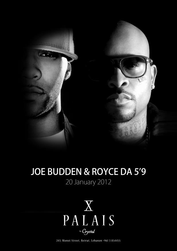 Joe Budden And Royce Da 5'9 Live At Palais