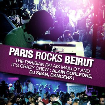 Paris Rocks Beirut Live At Palais Maillot