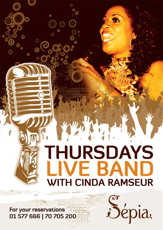 Thursdays Live Band At Sepia