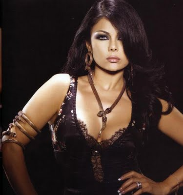 The Sexy Haifa Wehbe Participates in Charity Auction in Dubai