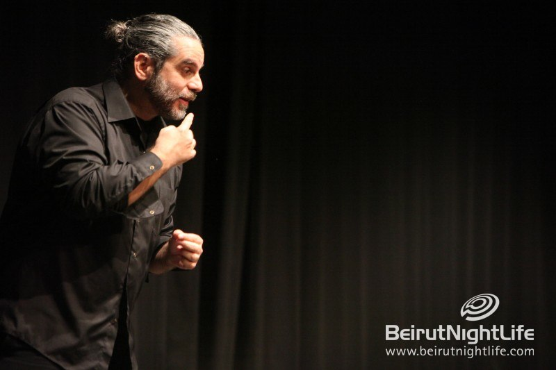 Comedian Joe Kodeih Presents Film Cinama at the Monot Theater