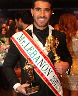 Rodolphe Abi Nader is Mr Lebanon 2012