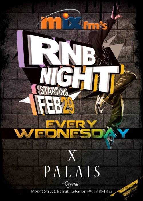 RNB Night At Palais