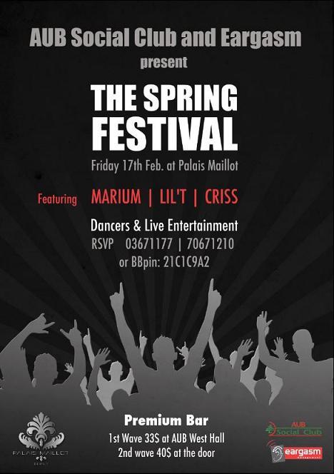 Spring Festival At Palais Maillot