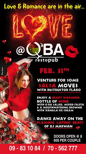 Celebrate Love At Q'ba