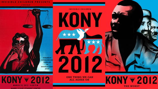 STOP KONY! Spread the Word . . . Make Him Famous!