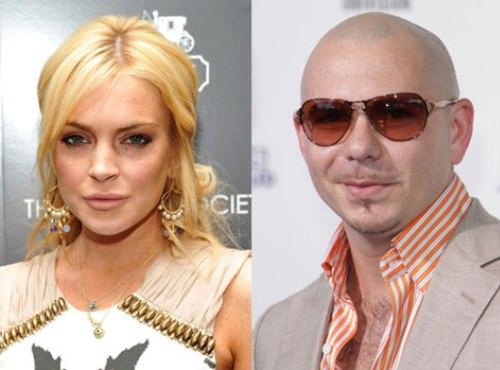Lindsay Lohan Sues Pitbull
