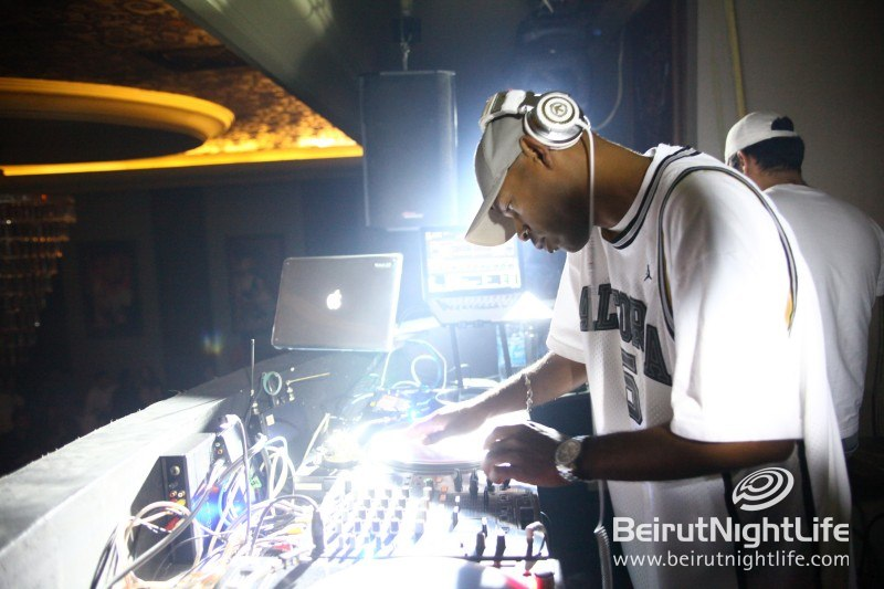 DJ Jam Scratches Away at Palais