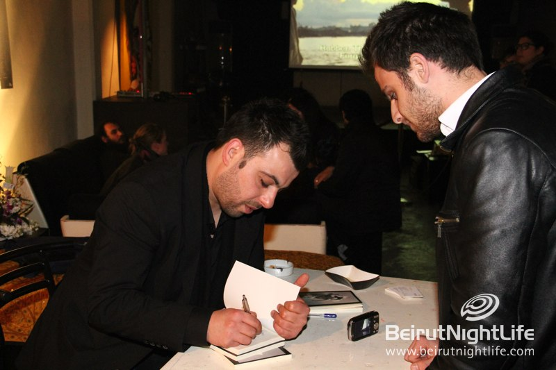 An Evening of Extraordinary Talents at the Omar Baz Radwan's Poetry Signing at Art Lounge