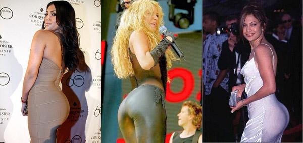 Sexiest Butt: J Lo, Shakira or Kim Kardashian?