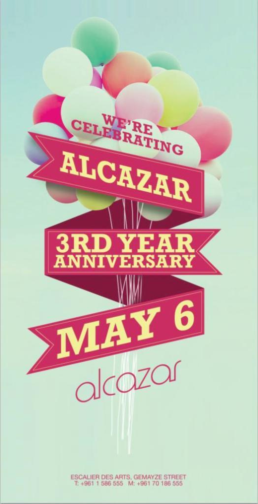 Alcazar 3rd Anniversary