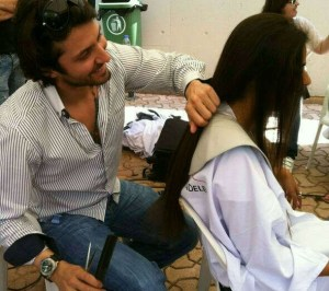 BeirutStudentLife: LAU Students Donate Hair in Support of Children Cancer Center