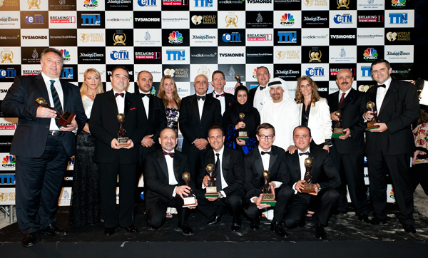 Rotana Wins 10 Awards at the WTA!