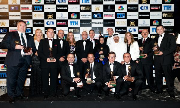 Rotana Wins 10 Awards at the WTA!