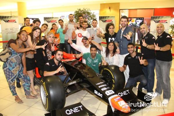 The Marussia Formula 1 Car at City Mall and ABC Ashrafieh