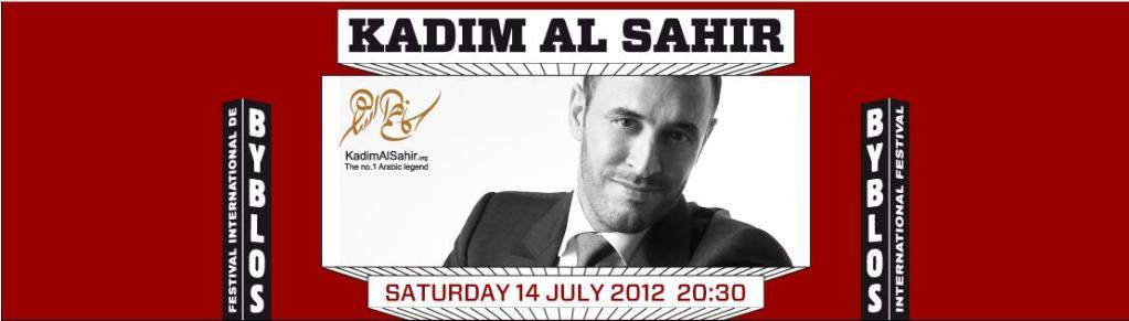 Kadim Al Sahir Live At Byblos Festival