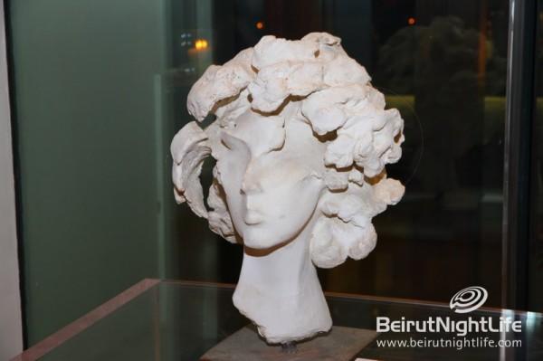 "Sculptor M. Mazmanian Showcases ""Les Dames De Beyrouth"" at Hotel Le Gray"