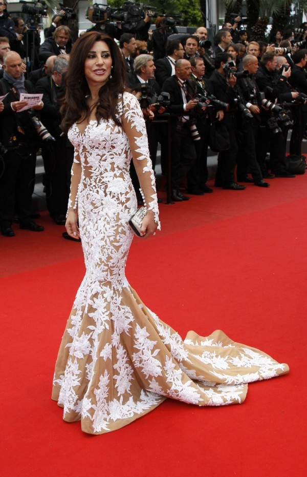 Najwa Karam, New Face of L'Oreal ME, at the Cannes Film Festival