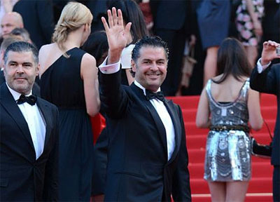 Ragheb Alama at the Cannes Film Festival